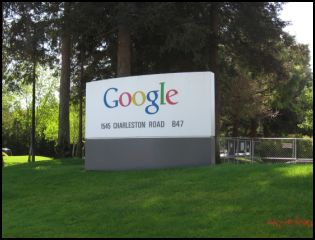 Googleplex welcome sign 1