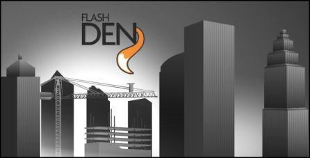 cityscape 3d flash animation template cityscape_flash_animation_1
